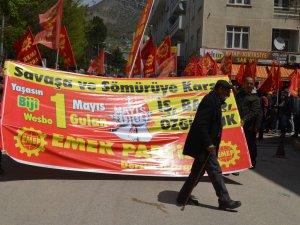 1 Mayıs, Dersim'de coşkuyla kutlandı