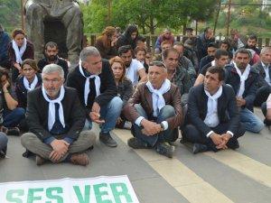 HDP'den tecrit karşıtı eylem