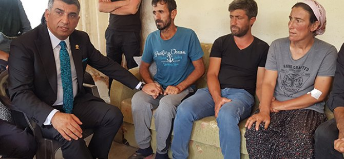 CHP'li Erol'dan, Ayaz ile Nupelda'nın ailesine ziyaret