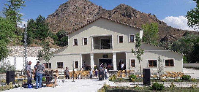 Pülümür Bellek ve Kültür Evi açıldı