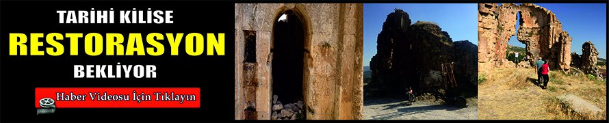 Tarihi kilise restorasyon bekliyor VİDEO