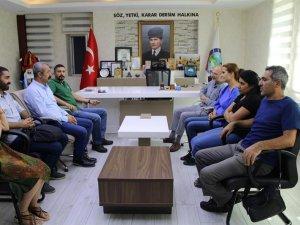 TKP Genel Sekreteri Okuyan'dan Maçoğlu'na ziyaret