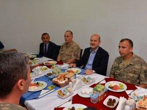 İçişleri Bakanı Süleyman Soylu'dan Tunceli ziyareti