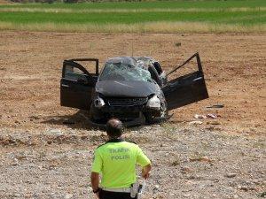 Ovacık'ta kaza: 1 ölü, 4 yaralı