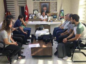 Katı Atık Tesisi Projesi toplantısı yapıldı
