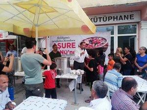 Akpazar Belediyesi aşure dağıttı