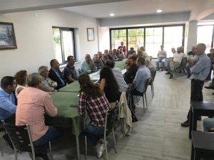 Aktuluk Mahallesinde toplantı