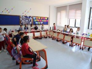 8 derslikli ilkokul hizmete açıldı