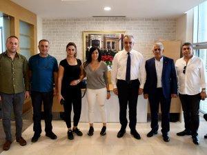 TSO'dan Başkan Esen'e ziyaret