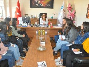 Lise öğrencileri Munzur Üniversitesini ziyaret etti