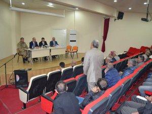 Hozat'ta muhtarlar toplantısı