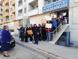 Kadın Kolları Başkanı Güngör'den 25 Kasım açıklaması