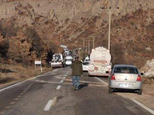 Zırhlı araç devrildi: 13 yaralı