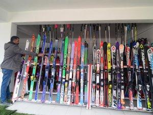 Kayak merkezi yeni sezon için gün sayıyor