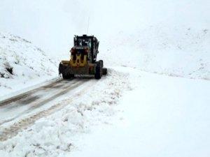 Kar yağışı: 218 köy yolu kapandı