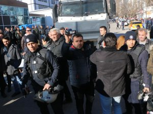 Dersim'de polisten öğrencilere müdahale VİDEO