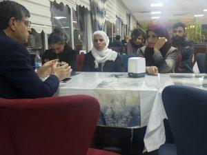 Milletvekili Şaroğlu, Gülistan'ın ailesini ziyaret etti