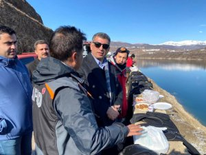 Milletvekili Erol, Gülistan'ı arama çalışmalarını takip etti