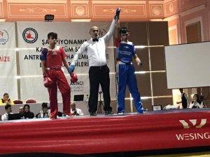 Çemişgezekli sporcu Türkiye Şampiyonu oldu