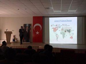 İl Mili Eğitim Müdürlüğü'nden 'Koronavirüs'toplantısı