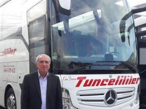 Otobüs firması yolcularını korumak için taşımacılığa ara verdi