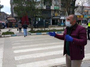 Caddelerde maskesiz dolaşmak yasaklandı