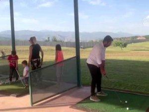 İlk golf sahası faaliyete geçti