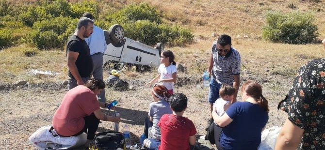 Pülümür'de kaza : 9 yaralı