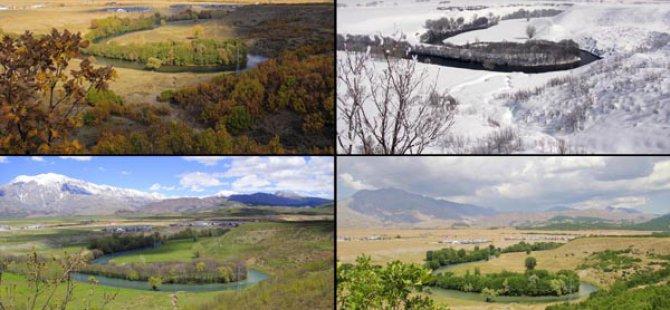 Ovacık ilçesi 4 mevsim çekilen fotoğraflarıyla büyülüyor