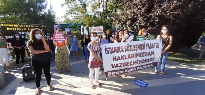 Dersim Kadın Platformu: İstanbul sözleşmesi uygulansın