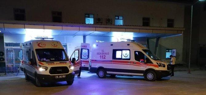 Dersim'de feci kaza: 2 yaralı