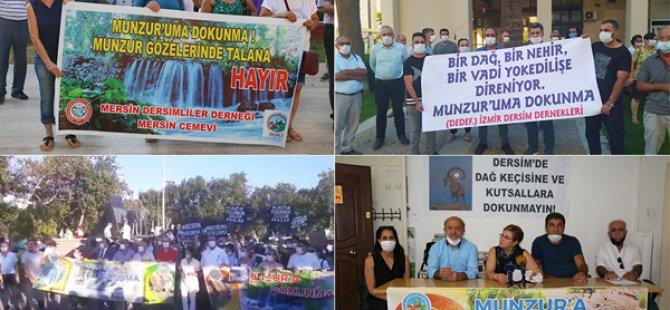 DEDEF'ten açıklama: Alevi Ziyaretgahına peyzaj projesi hukuka aykırı