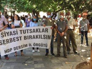 HDK ve ESP'ye yönelik gözaltılar protesto edildi