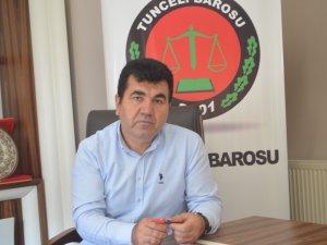 Baro Başkanı Çetin'den maden sahası açıklaması