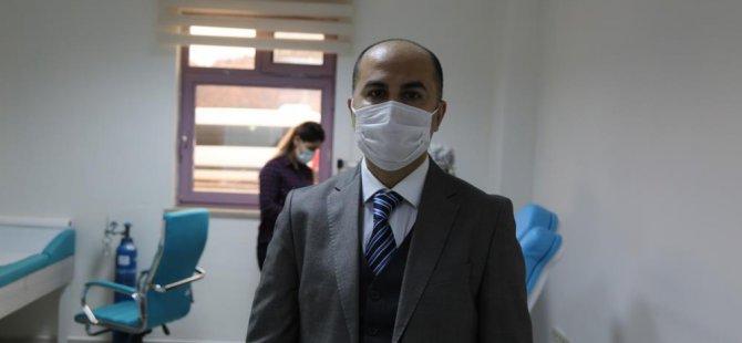 Devlet Hastanesi Başhekimi Özdemir, Kovid-19 sürecini anlattı