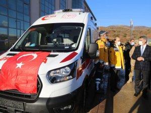 4 yeni ambulans hizmete girdi