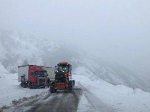 Dersim-Erzincan kara yolu yeniden açıldı