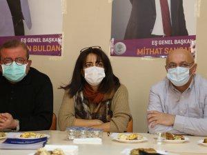 """HDP Milletvekilleri  """"Herkes İçin Adalet"""" kampanyasını açıkladı"""
