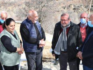 HDP Milletvekilleri, dağ keçilerinin öldüğü bölgeyi ziyaret etti