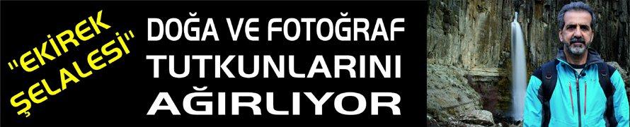 """""""EKİREK ŞELALESİ"""" DOĞA VE FOTOĞRAF TUTKUNLARINI AĞIRLIYOR"""