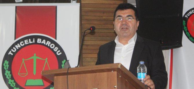 Kenan Çetin yeniden baro başkanı seçildi