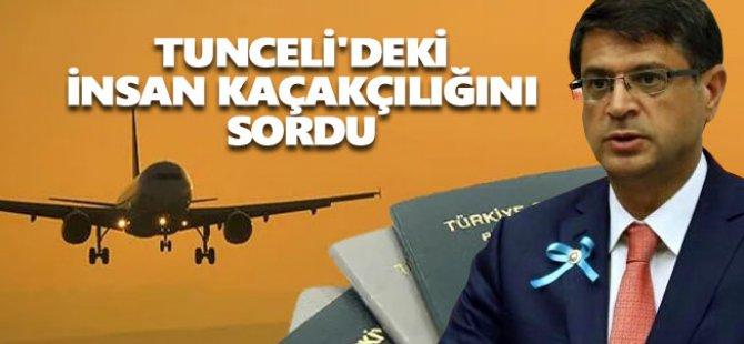 Milletvekilli Şaroğlu, insan kaçakçılığını Meclis gündemine taşıdı