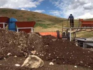 Maden yıkama tesisinin atık suyu Pülümür Çayı'na akıtılıyor