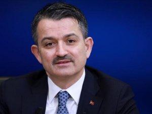Bakan Pakdemirli: Tunceli'de 83 bin fidan dikeceğiz