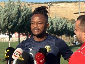 "Walter Bwalya: ""Yeni Malatyaspor'da olduğum için mutluyum"""