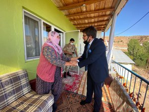 Kaymakam Koç'tan Cebe köyüne ziyaret