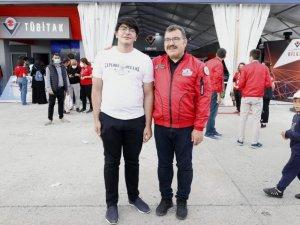 """TÜBİTAK Başkanı Mandal'dan """"Balaban"""" paylaşımı"""