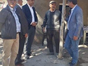 Milletvekili Şaroğlu'ndan köy ziyareti