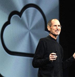 Steve Jobs bulutla döndü!