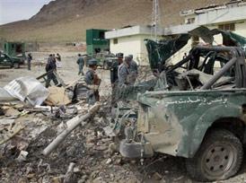 Afganistan'da karakola saldırı: 9 ölü